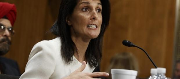 Nikki Haley warns North Korea at UN.