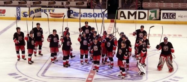 NY Rangers Salute (Wikimedia Commons - wikimedia.org)