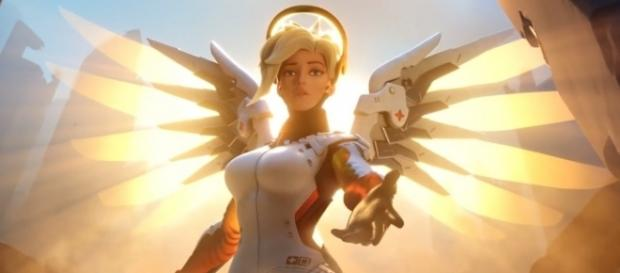 """On """"Overwatch"""" PTR, Mercy is unable to resurrect fallen comrades within a spawn point (via YouTube/PlayOverwatch)"""