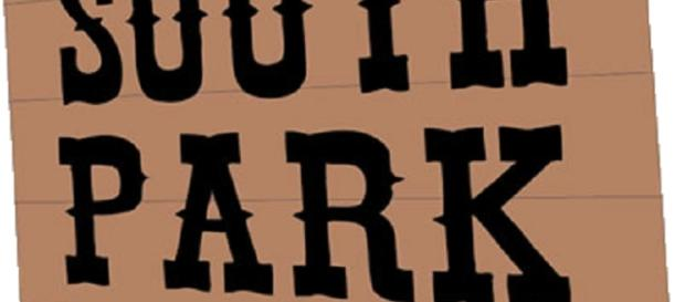 South Park Logo Sign (Wikimedia)