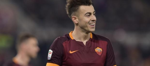 Stephan El Shaarawy dell'As Roma