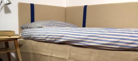 Un letto per riposare dopo una giornata di lavoro
