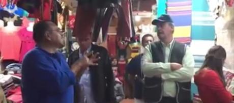 Vicente Fox, increpado por ciudadano en Chiapas (https://cdn.proceso.com.mx)