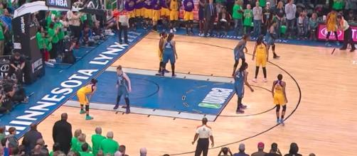 A rematch of the WNBA Finals takes place tonight in Minnesota with the Sparks vs. Lynx. [Image via WNBA/YouTube]