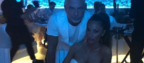 Alessandro Moggi e Raffaella Fico in vacanza a Mykonos