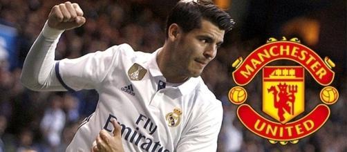 Álvaro Morata pretendido por el Manchester United