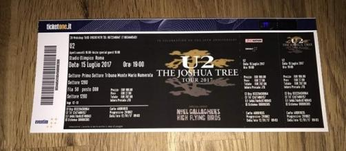 Biglietti concerto U2 allo Stadio Olimpico