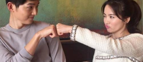 """Descendants of the Sun"" stars Song Joong-Ki, Song Hye-Kyo wedding confirmed Image credit Drama Lovers Youtube"