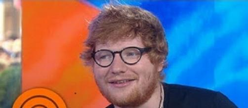 "Ed Sheeran shares fan-voted set list and thoughts about Twitter on ""Today"" show.--Screencap TODAY/YouTube"