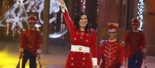 Laura Pausini ad un party negli Stati Uniti