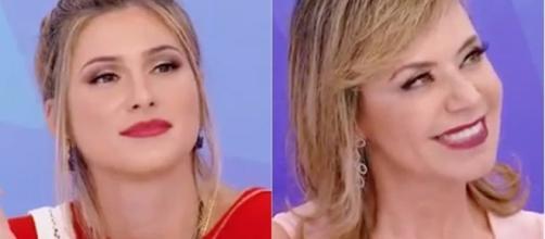 """Lívia Andrade e Flor protagonizaram mais um """"climão"""""""