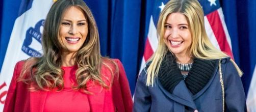 Looks de Ivanka y Melania Trump