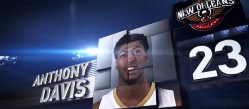 New Orleans Pelicans star Anthony Davis Youtube / NBA