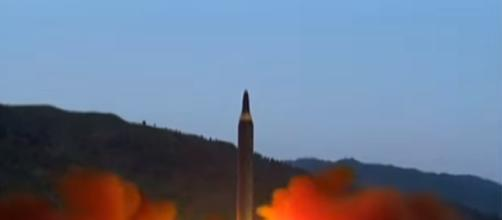 North Korean missile launch. Image credit Matt Novak | Youtube