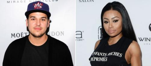 Rob Kardashian & Blac Chyna Are Fighting in Instagram Comments ... - hercampus.com