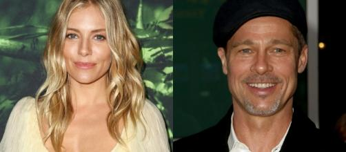 Sienna Miller and Brad Pitt dating rumors (Image Credit: Hollywood Life/YouTube)