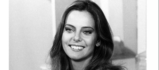 Bruna Lombardi, muito jovem na Globo