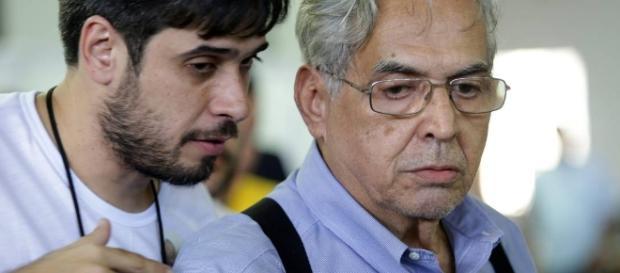 Eurico e Euriquinho, vice-presidente e presidente do Vasco