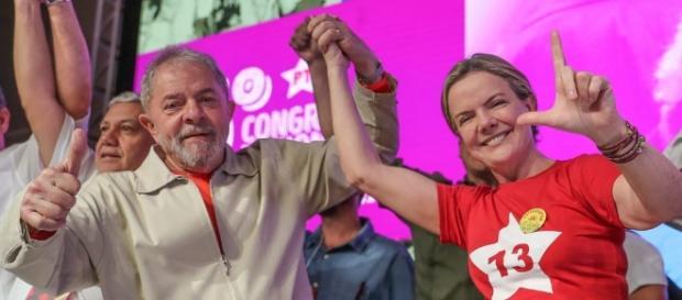 Lula depõe a favor da senadora Gleisi Hoffmann