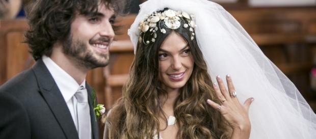Ruy e Ritinha finalmente vão se casar.
