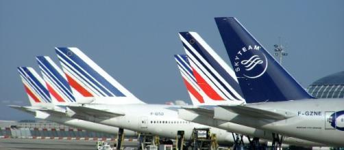 Air France et Hop! - Grève - CC BY