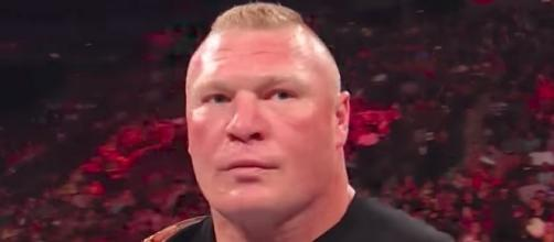 Brock Lesnar defends the WWE Universal Championship at Sunday's 'Great Balls of Fire' 2017 PPV. [Image via WWE/YouTube]