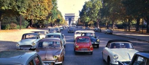 Cars in Paris, France- by dok1 via Flickr