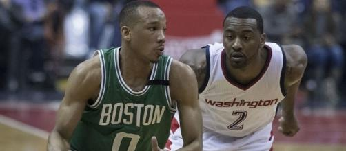 Celtics at Wizards 5/12/17 by author Keith Allison via Wikimedia Commons