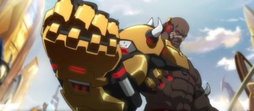 "Doomfist is the 25th hero in ""Overwatch"" and is considered one of the villains in the game's lore (via YouTube/PlayOverwatch)"