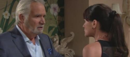 'B&B': Eric will not forgive Quinn and Ridge for betraying him and Sheila reunites with ex-husband James (Youtube Screenshot/ BoldandBeautiful)