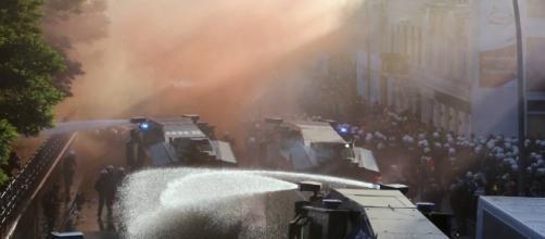 G20, manifestazioni ad Amburgo contro i grandi della terra - corriere.it