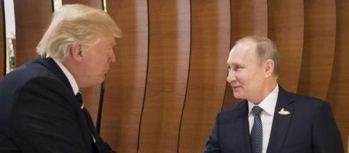 President Trump and Putin meet for the first time ahead of the closely followed G20 meeting in Hamburg (Midland Daily News/ourmidland.com)