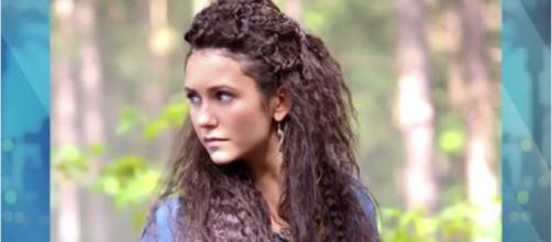 "Nina Dobrev FIRST LOOK at ""The Vampire Diaires"" Cross Over - Clevver News/YouTube"