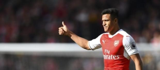 9282a47da607 Alexis Sanchez may likely leave Arsenal this summer (Image Credit  pinterest .com)