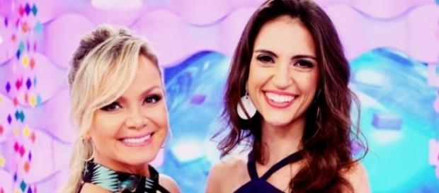 As duas apresentadoras do SBT são grandes amigas