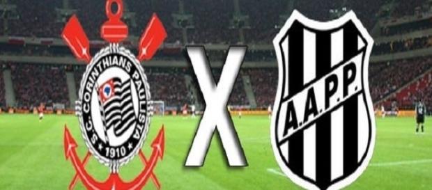 Corinthians - Ponte Preta, jogo da 12ª jornada do Brasileirão