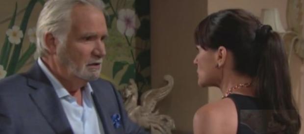 'B&B': Eric will not forgive Quinn and Ridge for betraying him and Sheila reunites with ex-husband James (Youtube Screenshot/ BoldandBeautiful)