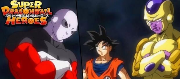 Estos son los finalistas del torneo, Goku, Jiren y Freezer
