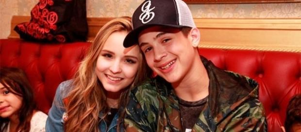O jovem casal esteve junto durante muito tempo
