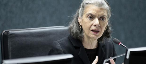 Presidente do STF, ministra Cármen Lúcia, fez uma análise profunda do Poder Judiciário no Brasil (Foto: Reprodução)
