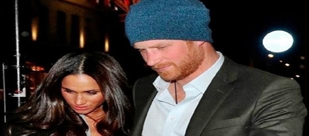 Príncipe Harry e a plebeia Meghan Merkle