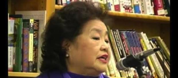 Setsuko Thurlow - Image screencap YouTube/Coleen Fitzgibbons