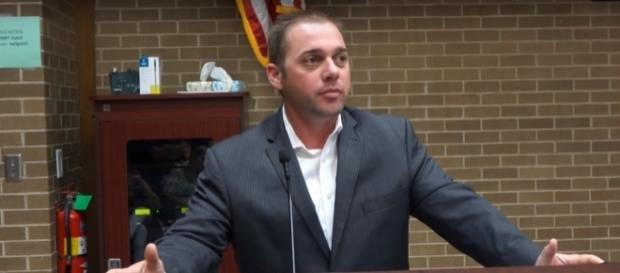 State Senator Bryce Marlatt accused for sexually harassing an Uber driver. (YouTube/Lynn L. Martin)