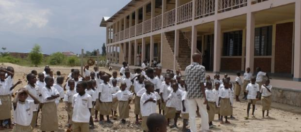 The Charlemagne School in Burundi by Bernd Weisbrod via WikiMedia Commons