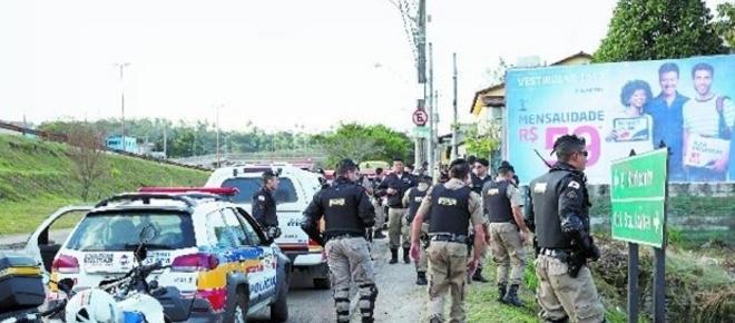 Polícia Militar promove caçada cinematográfica a bandido que baleou PM; assista