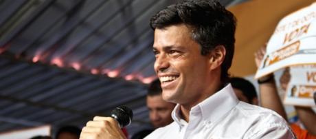 El opositor venezolano Leopoldo Lopez