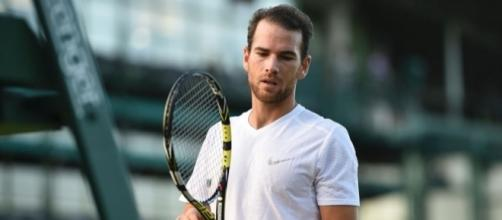 Adrian Mannarino, Wimbledon 2017.