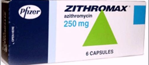 Azithromycin is a current antibiotic for gonorrhea. Photo via Елизавета Корнеева, YouTube.