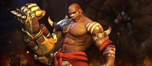 """Doomfist is now available on the """"Overwatch"""" Public Test Realm, but he isn't voiced by Terry Crews. (Gamespot/Blizzard)"""