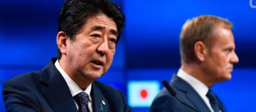 EU, Japan Seal Free Trade Pact Image credit Wochit News|Youtbe
